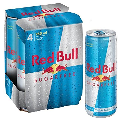 Red Bull Zuckerfrei 4 X 250 Ml