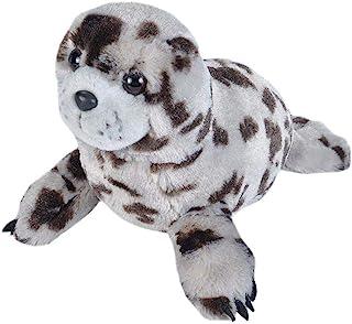 Wild Republic Harbor Seal Plush Soft Toy, Cuddlekins Cuddly Toys, Gifts for Kids 30 cm