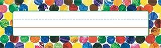 Carson Dellosa Eric Carle Dots Nameplates (122026)