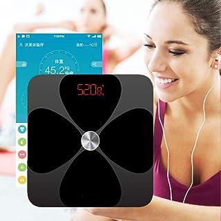 Básculas de baño Smart Body Fat Scale Báscula De Baño Electrónica Piso Ponderación Digital Bmi Scale Ito Proceso De Recubrimiento 20 Datos