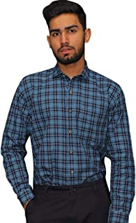 Klick Formal Shirt Made with fine Fabrics of Blended Cotton-KLS-3042