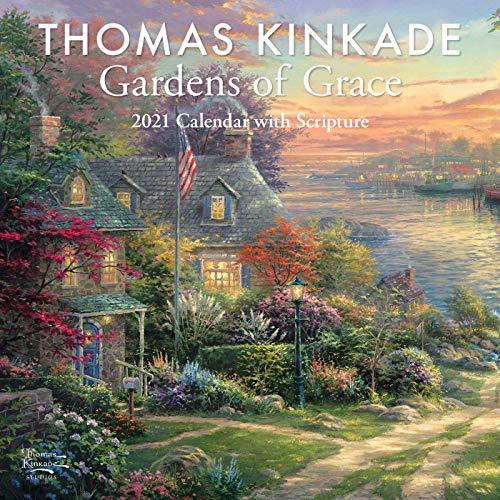 Thomas Kinkade: Gardens of Grace - Gärten voller Anmut 2021: Original Andrews McMeel-Kalender
