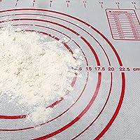 多機能クッキングマット シリコン 抗菌除菌製菓マット ベーキングマット シリコーンシリコン 焼き菓子用マットノンスリップ 耐熱クッキーシート水洗い可能 繰り返し使用可能,黒