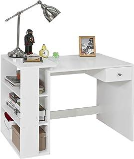 SoBuy Mesa de Escritorio, Mesa de Ordenador con un cajón y