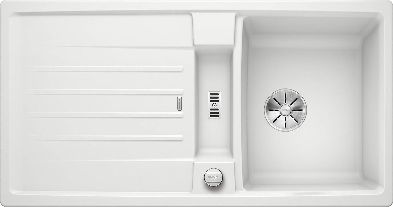 Weiß 524924 Lexa 5 S Küchenspüle, wei, 50 cm Unterschrank