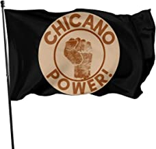 JXXO Chicano Power Flag,Outdoor Garden decorates Grommzets Tough Durable Fade Resistant for All Weather Outdoor