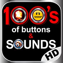100 of buttons and sounds