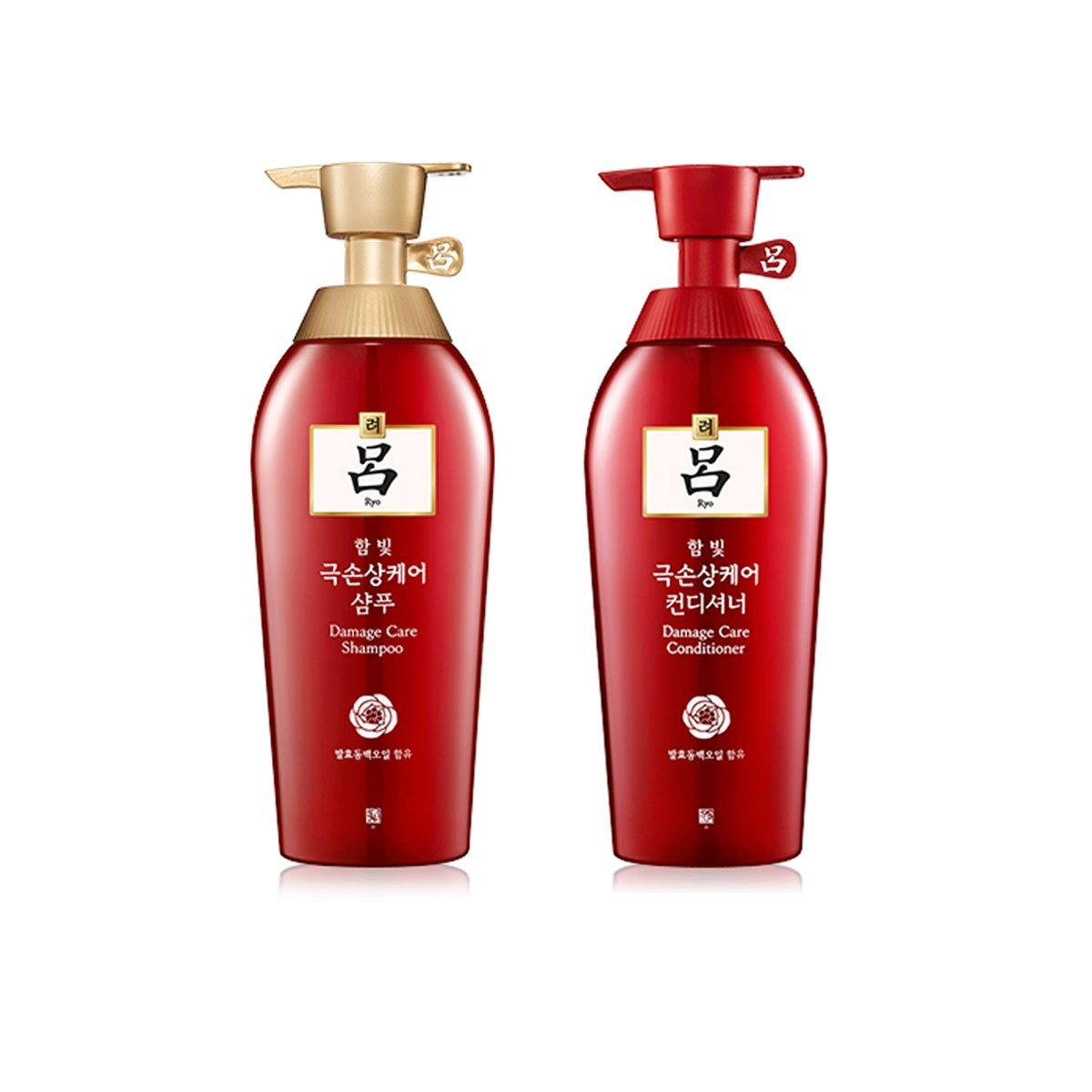 Korean Hairloss Damaged Shampoo Conditioner