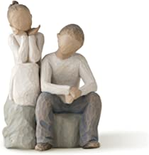 Willow Tree Brother and Sister, sculpted hand-painted figure