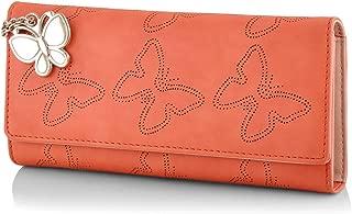 Butterflies Women's Wallet (Orange) (BNS 2383ORG)