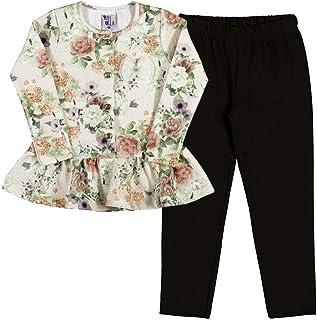 Conjunto Sublimado Natural-Primeiros Passos Menina-Couture-35720-711