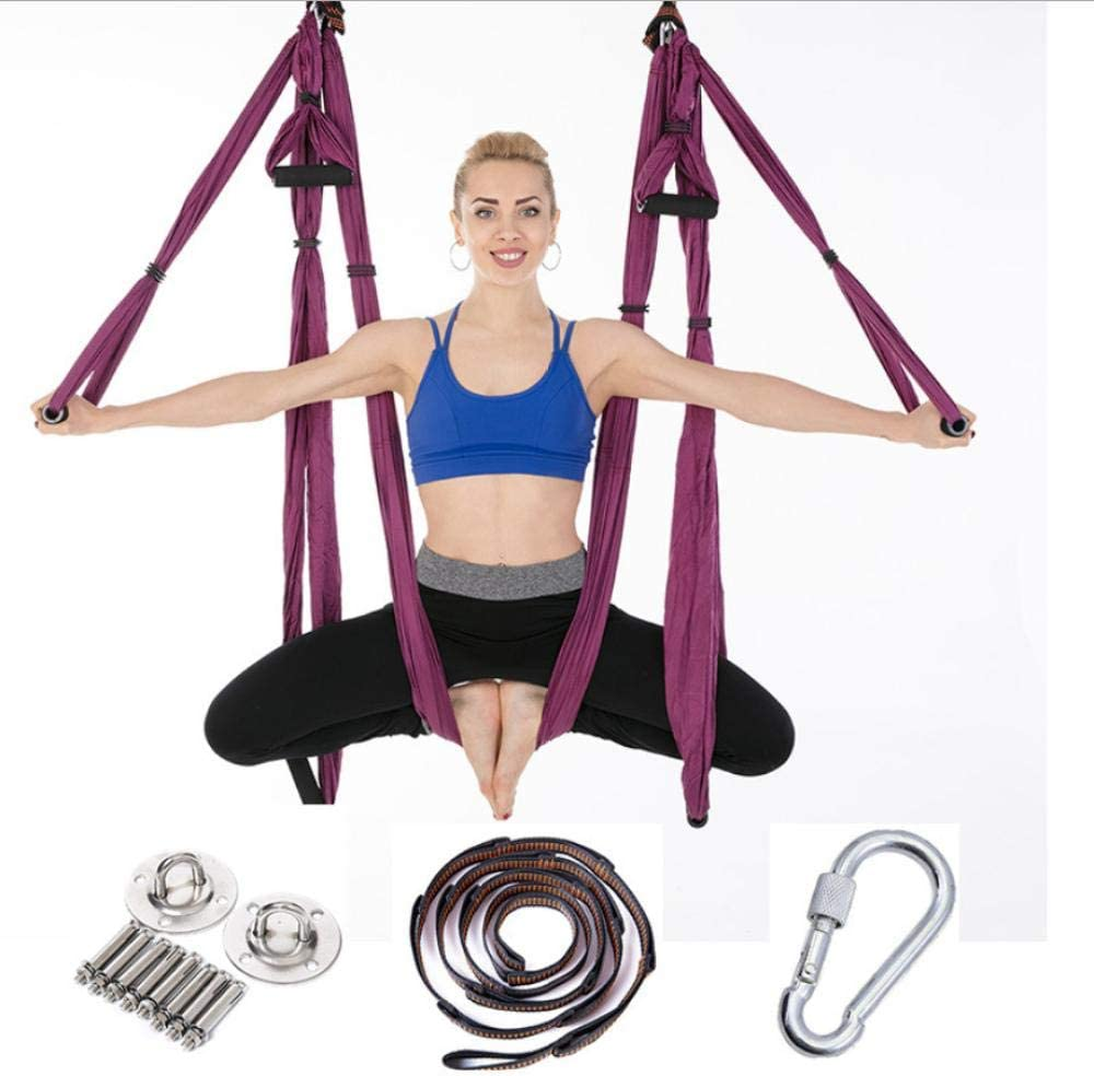 QSYT Aerial Yoga Max 70% OFF Swing and Hammock to Improve Handstand kit Super popular specialty store