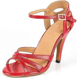 e1420f9d Qiusa Zapatos de Baile con Hebilla de Moda para Mujer Boda de Noche  Sandalias de graduación