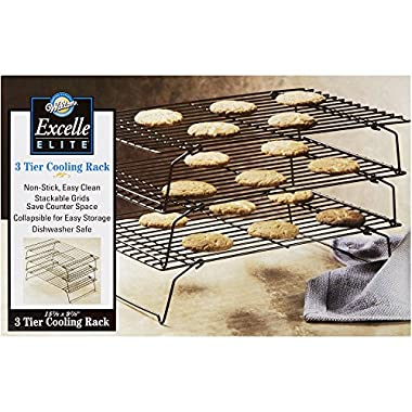 Wilton 2105-459 Excelle Elite 3-Tier Cooling Rack, 15 7/8  X 9 7/8