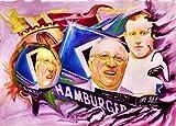 FUSSBALL-IDOL UWE SEELER Kunstdruck - direkt vom Künstler
