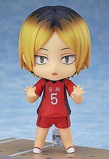 Kotee 10 cm animefigur Haikyuu!! Kozume Kenma Q version Nendoroid rörlig figur PVC anime tecknad spelkaraktär modell staty...