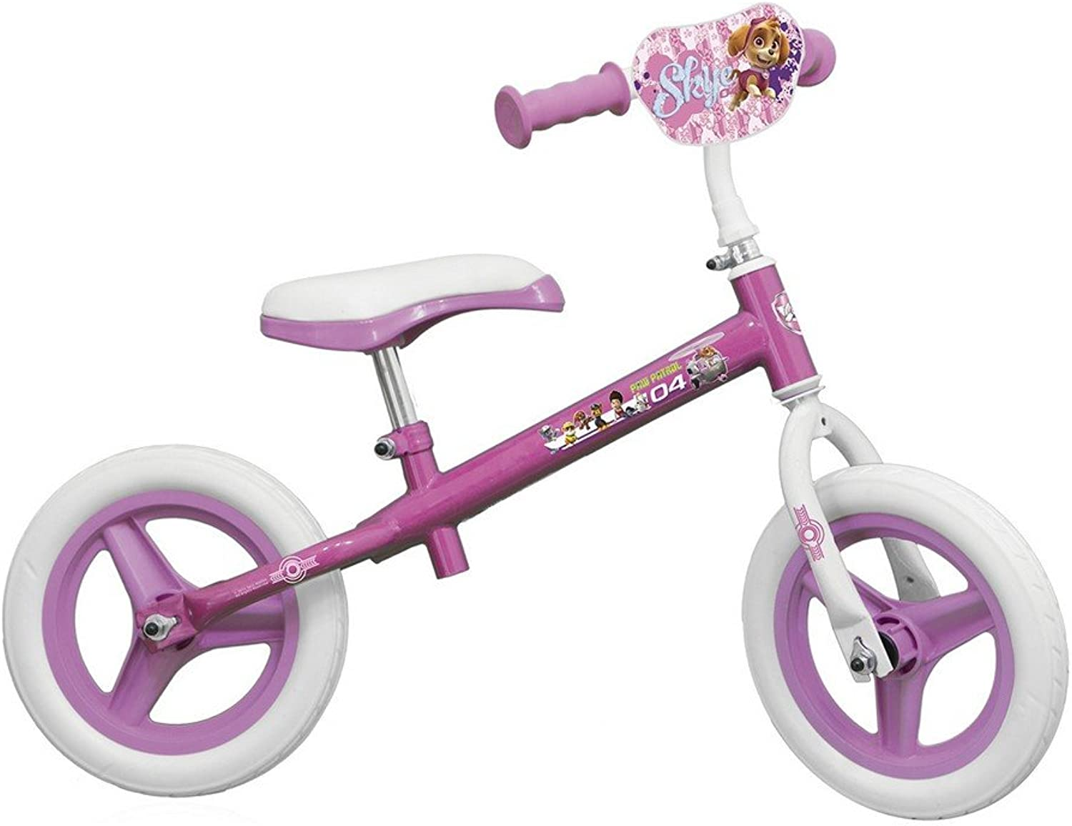 GUIZMAX Dandy horse Disney Paw Patrol 10 Inch Bike without Pedal Paw Patrol Girl