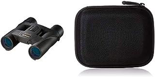 Nikon Aculon A30 Fernglas (10 Fach, 25mm Frontlinsendurchmesser) schwarz & Amazon Basics Festplattentasche, schwarz