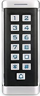 Retekess H1EM-W Access Control Keypad Door Access Control RFID Access Control Standalone Keypad IP68 Waterproof Wiegand 26-bit 2000 Users Single Door