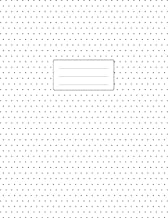 Isometric Dot Grid Notebook - 3D Graph Paper: 1/4 inch Distance Between Dotted Lines | 100 Pages | 8.5x11 Soft Cover Book | For Technical Drawing, Perspective Art Design, Bullet Journaling | White
