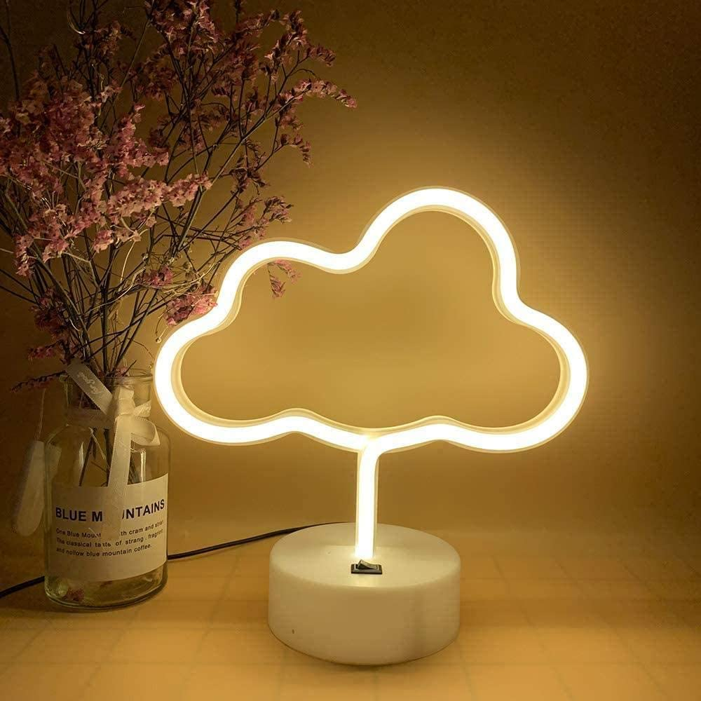 In a popularity JHJUH Fairy String Lights Max 77% OFF Cloud Deco LED Shape Neon