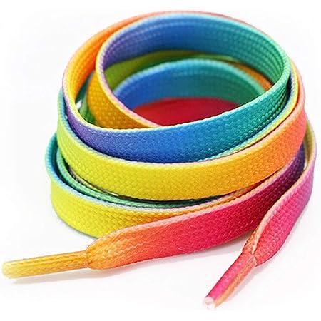 Flat Coloured Shoe Laces 30 Colours Shoelaces Football Boots Trainer Shoes