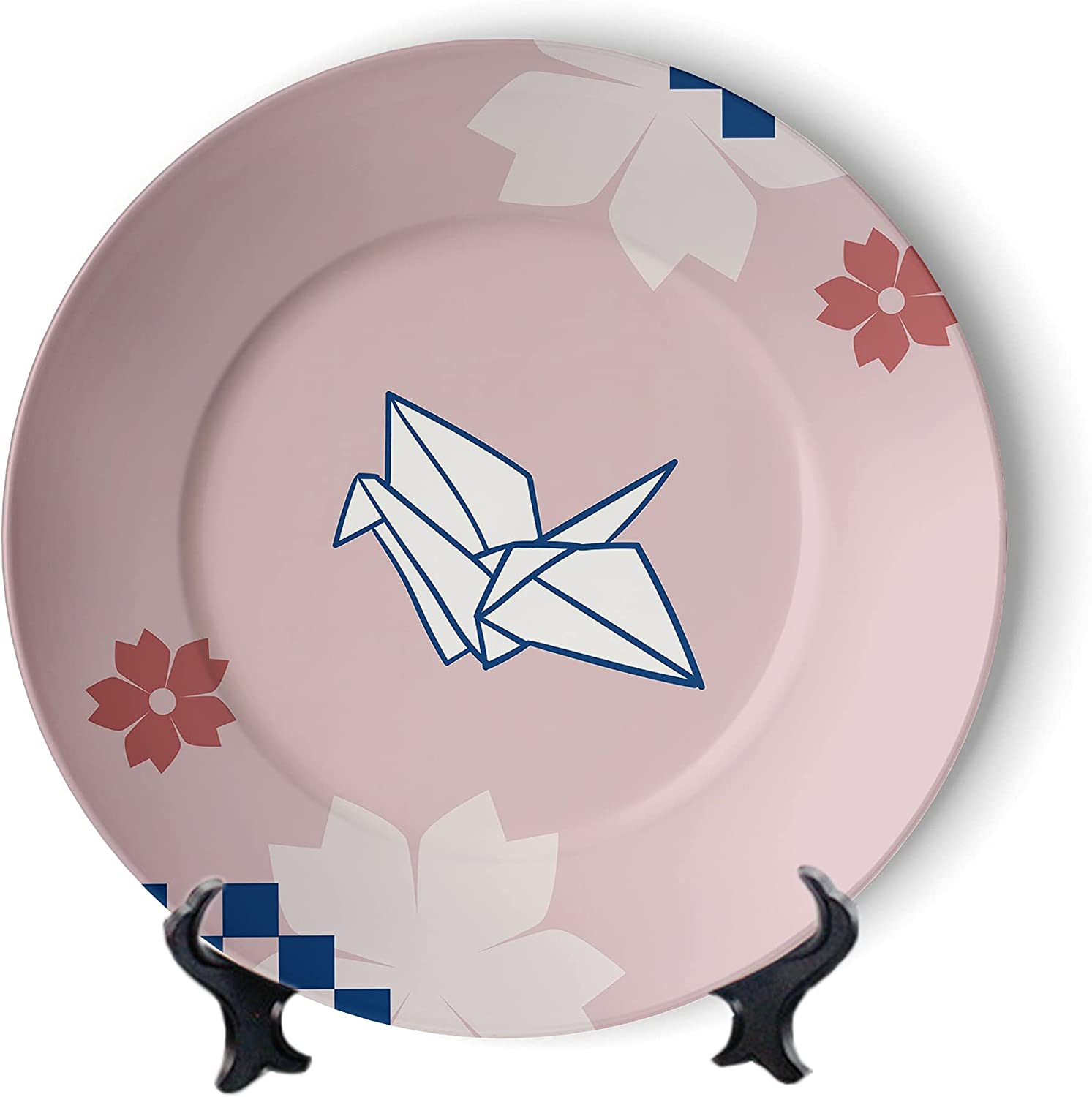 MOOMOO Paper Cranes Wall Hanging SALENEW very popular Pink Plate safety wi Panel Decorative