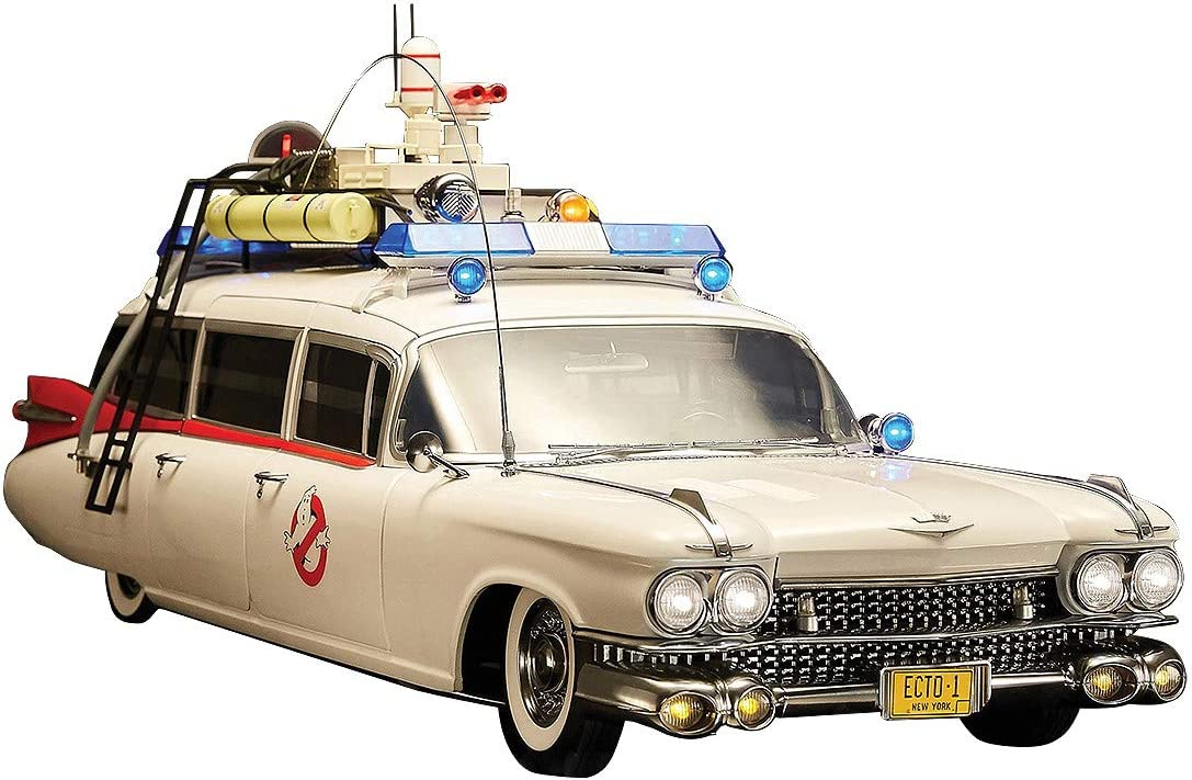 Blitzway Ghostbusters Vehicle 1 6 ECTO-1 Ve Cadillac 1959 Challenge the lowest Daily bargain sale price of Japan ☆ cm 116