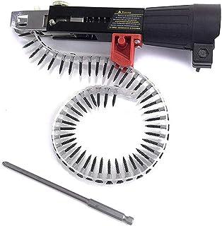 POHOVE Automatic Screw Spike Chain Nail Gu-n Adapter Screw Gu-n For Electric Drill, Screw Spike Chain Auto-Feed Stapler Wo...