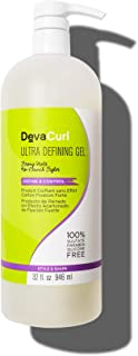 DevaCurl Ultra Defining Hair Gel, 32oz