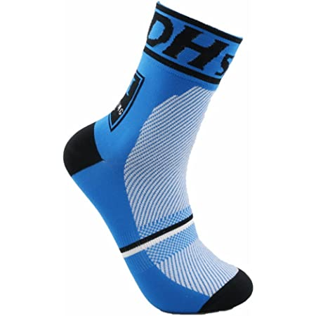 JIANYE Calcetines Ciclismo Transpirable Que Absorbe Running Deporte Bicicletas Calcetines Hombre Mujer