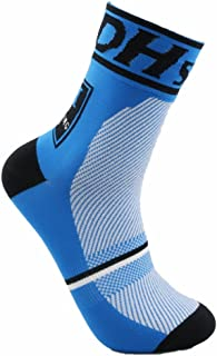JIANYE, Calcetines Ciclismo Transpirable Que Absorbe Running Deporte Bicicletas Calcetines Hombre Mujer
