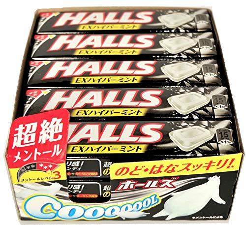 モンデリーズ・ジャパン ホールズEXハイパーミント 12粒×15本