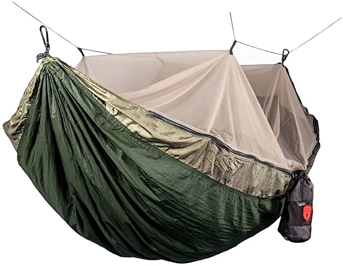 Grand Trunk Skeeter Beeter Pro Mosquito Hammock – The Hammock with A Net That Can Be Enjoyed As a Parachute Nylon Hammock