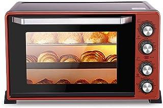 Toaster Oven STBD-Horno doméstico multifunción, 45L, Que Incluye Bandeja para Hornear, Parrilla, Bandeja de escoria, convección de Aire Caliente 3D, Rojo