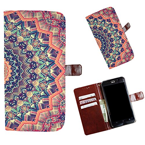 Snooky Printed Colorful Pattern Mobile Flip Cover of Apple iPhone 5S