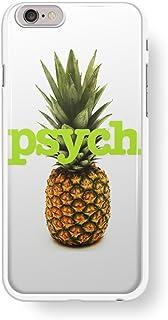 iPhoneケースとサムスンギャラクシーケース用サイックテレビ番組パイナップルロゴ。 ホワイト