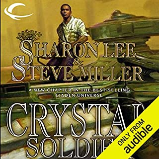 Crystal Soldier     Liaden Universe Books of Before, Book 1               By:                                                                                                                                 Sharon Lee,                                                                                        Steve Miller                               Narrated by:                                                                                                                                 Kevin T. Collins                      Length: 13 hrs and 51 mins     314 ratings     Overall 4.1