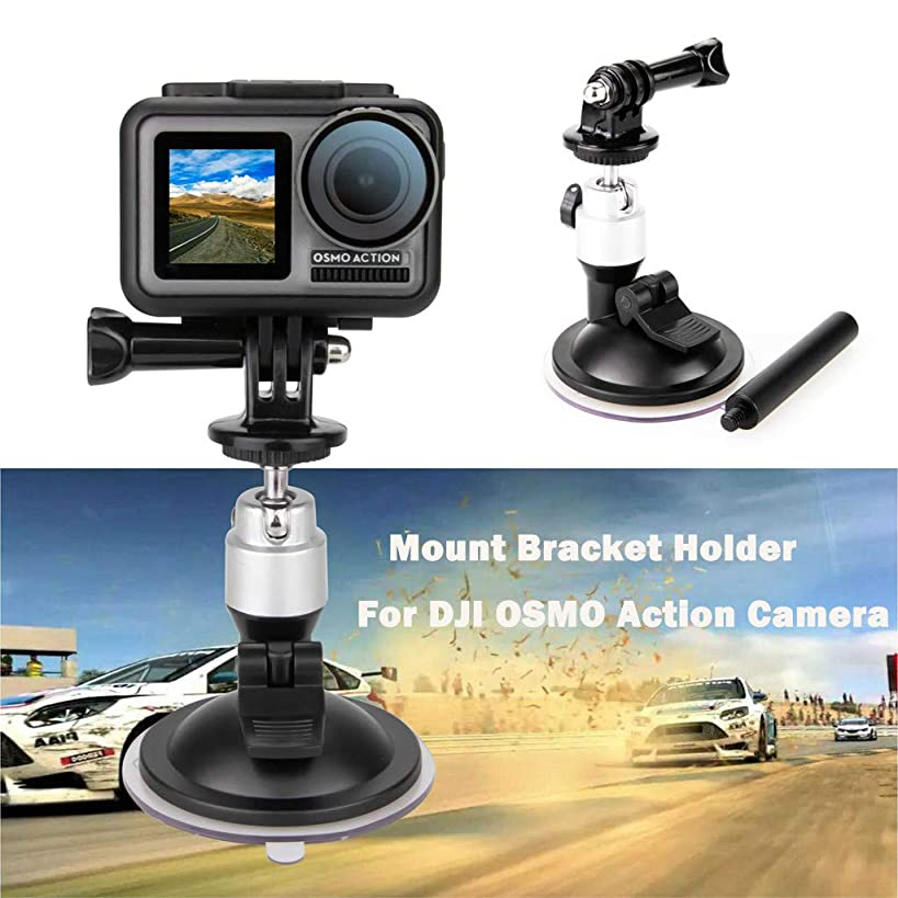 Livoty Expansion Accessories Kit for for DJI OSMO Action Camera Bike Car Vehicle Windshield Suction Cup Clip Mount Tripod Holder for DJI OSMO Action Camera