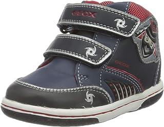 Geox B Flick D, Chaussures Bébé Marche Garçon