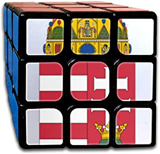 Toys & Games Rubiks Cube by DAIYU Math Text with Flowers and Autu Sleeve 3x3 Smooth Magic Square Puzzle Game Brain Training Game for Adults Kids Brain Teasers