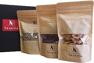 多可の無添加ドッグフード TASHIKAセットA (鹿肉ドライフード、ビスコッティ(トマト)、ジャーキー(背肉)) 一般食 最高級ペットフード