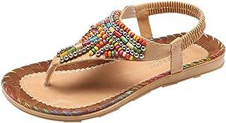 esModa Zapatos Para Amazon Boho Sandalias Vestir De Mujer dxoCWrBe