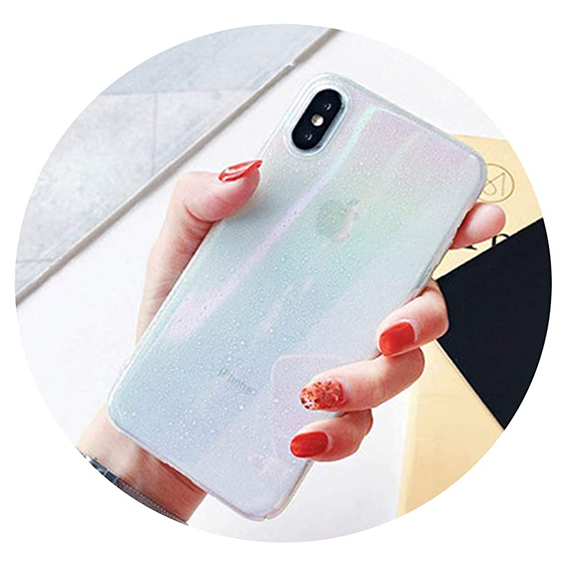 Monica's house Empaistic Partysu Cases for iPhone X XS Max XR 6 6S 7 8 Plus Raindrop Glitter Allochroic Hard PC Phone Back Cover Gift,b,for iPhone XR