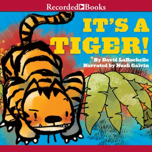 It's a Tiger! audiobook cover art