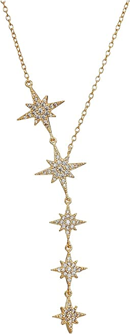 SHASHI - Starburst Lariat Necklace