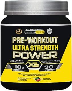 Potente Pre-Entreno & Estimulante Energético | Beta Alanina. Creatina. L-Arginina. Taurina | Músculos mas fuertes. Entrenamientos más intensivos | Incrementa la fuerza y resistencia | 300 gr sandía
