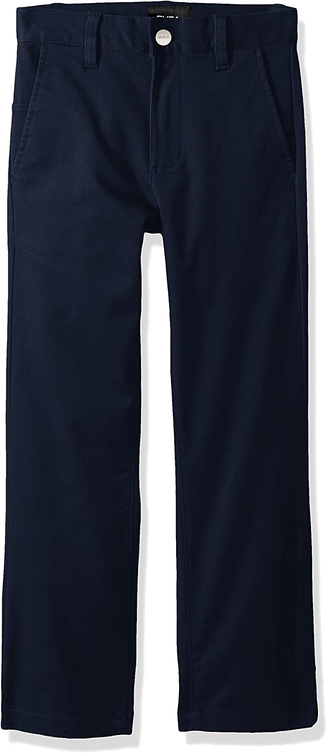 RVCA Boys' Now New York Mall free shipping Weekday Chino Pant Stretch