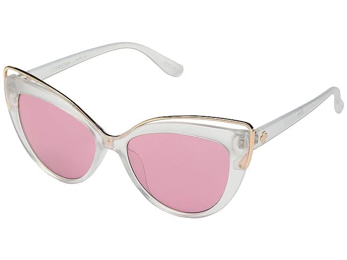 Spy Optic Julep (Matte Crystal/Rose) Fashion Sunglasses
