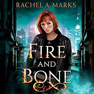 Fire and Bone audiobook cover art